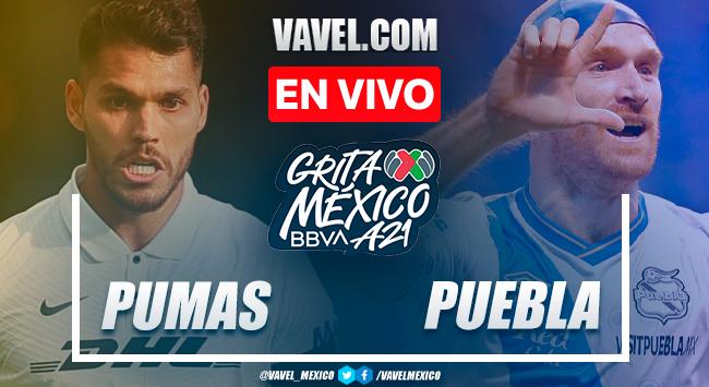 Resumen y goles: Pumas 2-0 Puebla en Liga MX Apertura 2021
