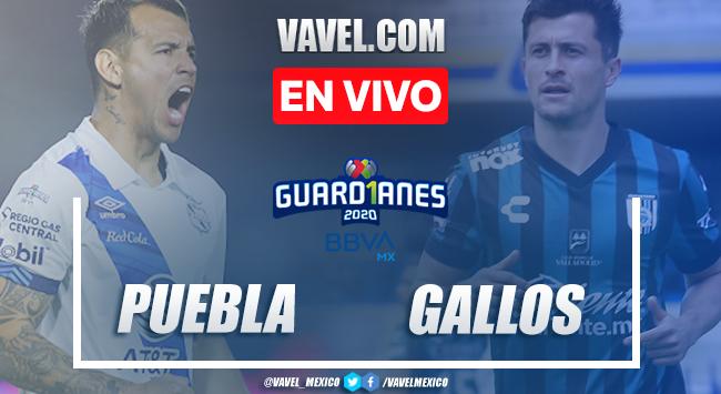 Resumen y goles del partido Puebla 3-3 Querétaro en Jornada 12 del Guard1anes 2020