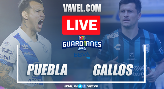 Highlights and goals of the Puebla 3-3 Querétaro on Guard1anes 2020