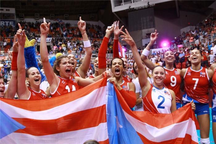 Rumo à Olimpíada: seleção feminina de Vôlei de Porto Rico