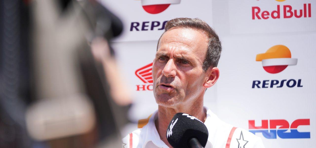 Alberto Puig, agradecido por el esfuerzo de Marc y por el resultado de Álex