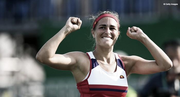 """Mónica Puig: """"Estoy muy feliz por la medalla de oro, pero mi mente ya está puesta en el US Open"""""""