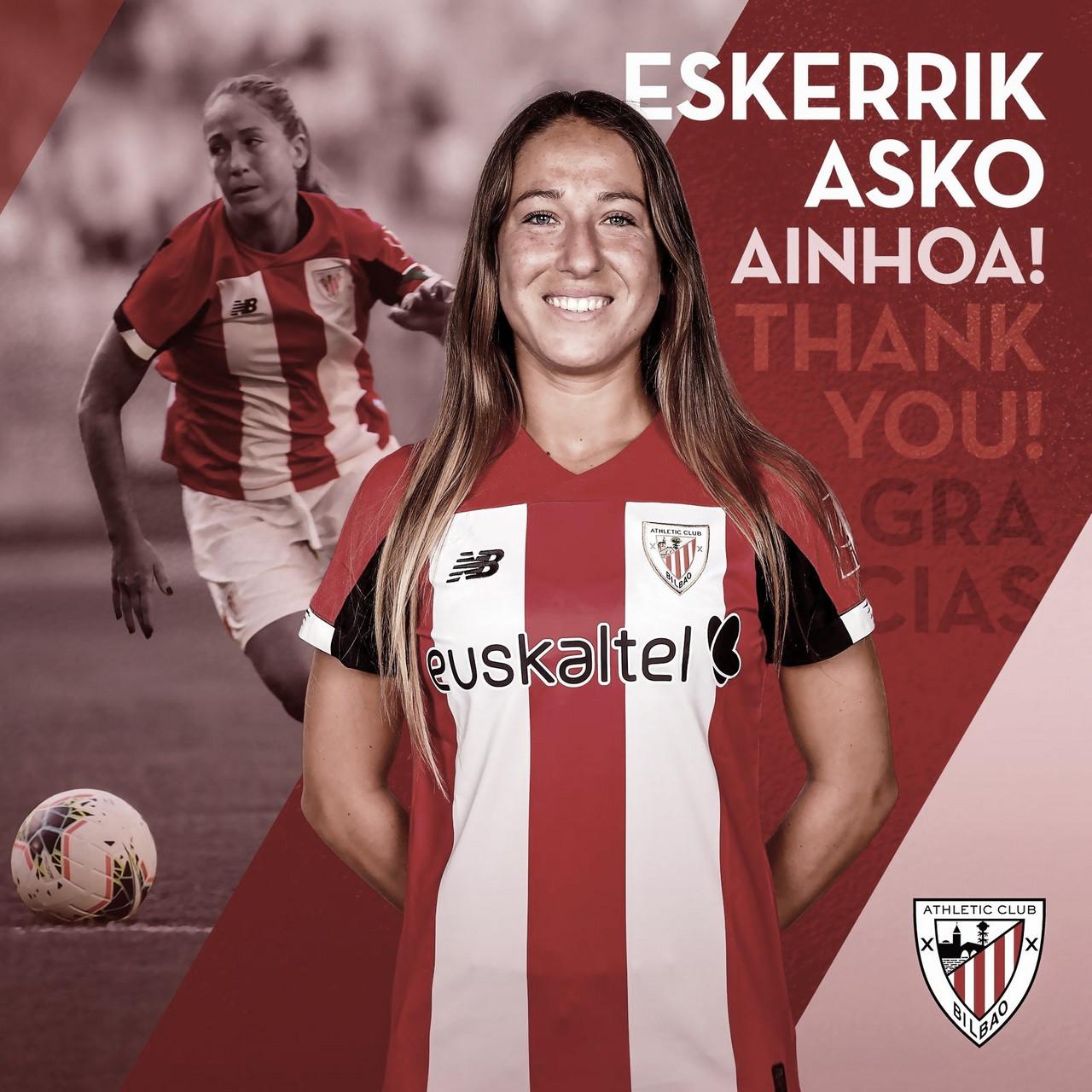 Ainhoa Álvarez se despide del fútbol