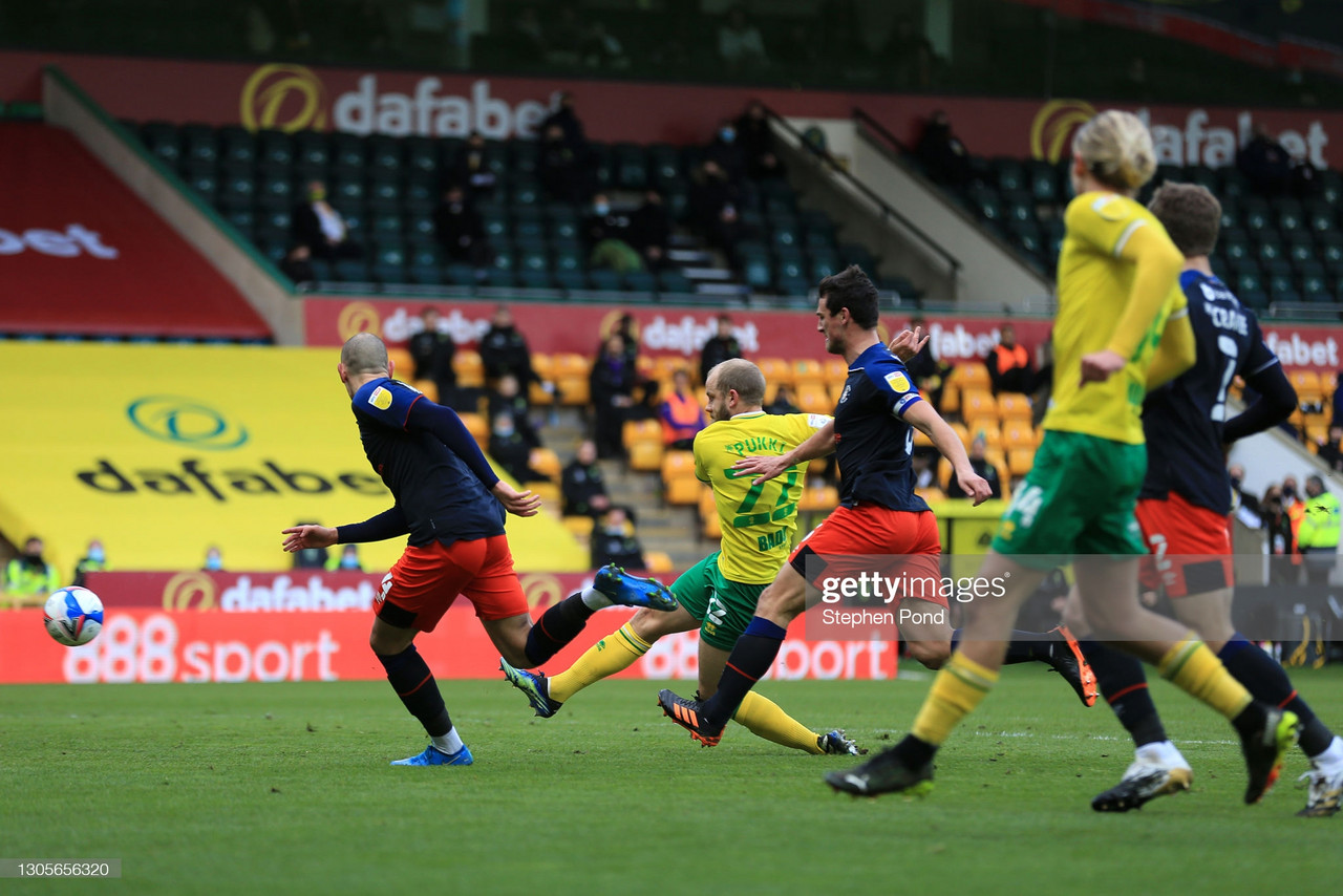 Norwich City 3-0 Luton Town: High-flying Canaries comfortably beat Luton Town