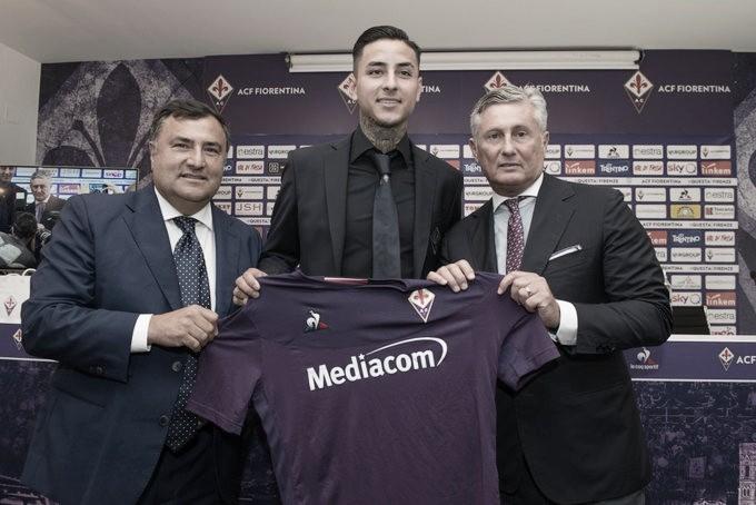Fiorentina confirma chegada de Erick Pulgar, volante da Seleção Chilena