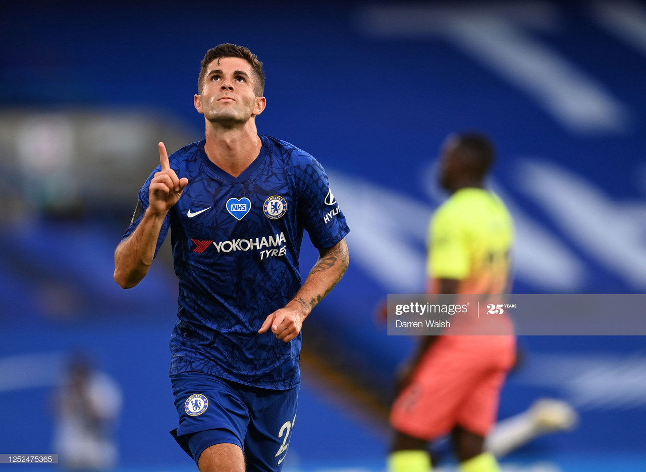 Chelsea's Captain America: Lampard challenges Pulisic to reach the heights of Sterling and Salah