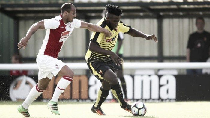 Watson and Cathcart discuss Isaac Success in relation to Odion Ighalo