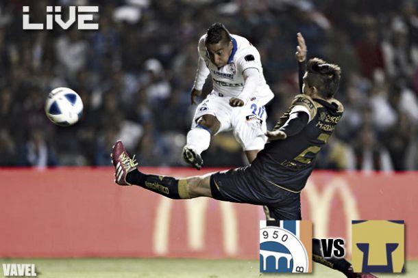 Resultado Querétaro - Pumas en Liga MX 2014 (1-3)