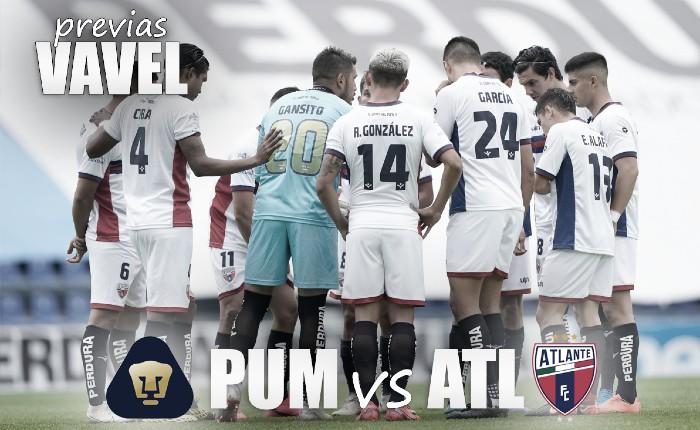 Previa Pumas Tabasco vs Atlante: a tomar ventaja en la ida