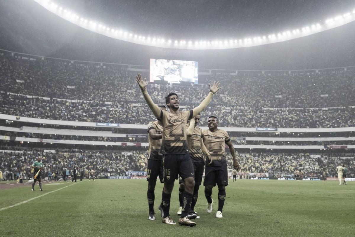 54 años de rivalidad entre Pumas y América; goleadas universitarias en el Azteca