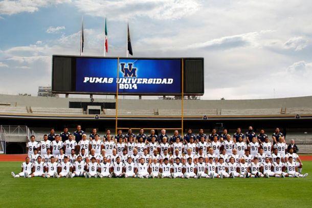 Los Pumas CU se tomaron la foto para la temporada 2014 de ONEFA