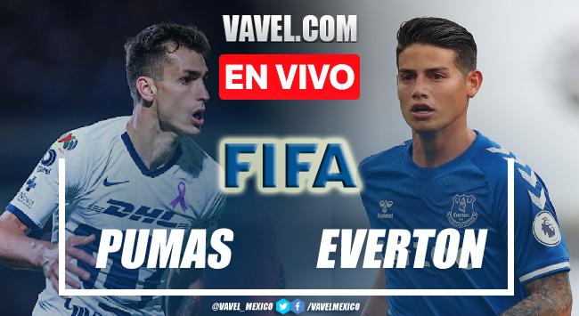 Goles y resumen del Pumas 0-1 Everton en partido amistoso 2021