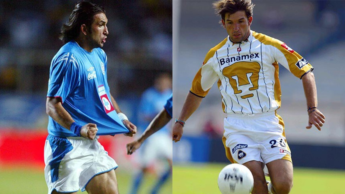 11 ideal histórico de Pumas y Cruz Azul
