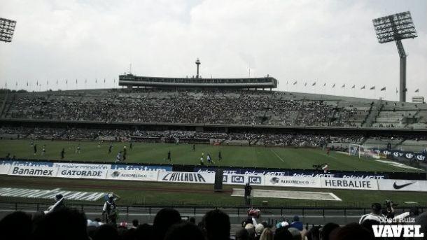 En un rincón de C.U., Pumas - Puebla
