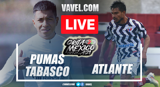 Goals and Highlights: Pumas Tabasco 0-2 Atlante in Liga Expansion MX