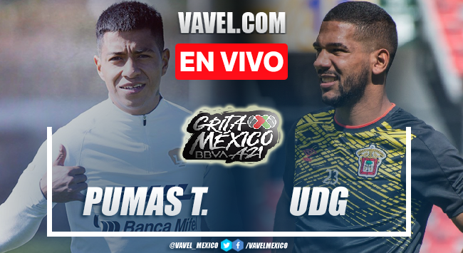 Goles y resumen del Pumas Tabasco 1-1 Leones Negros en Liga Expansión MX 2021