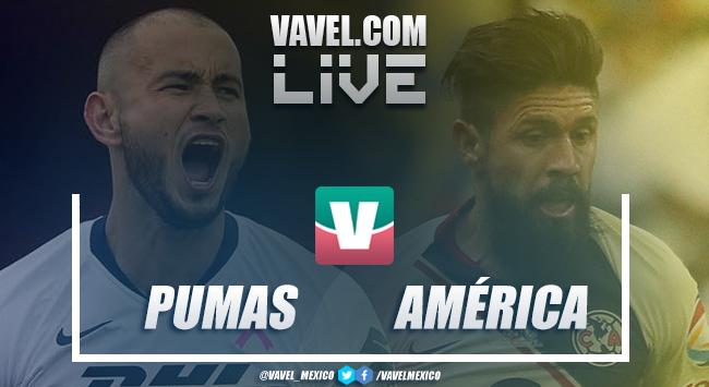 Pumas vs América EN VIVO ahora (0-0)