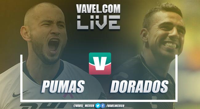 Resultado Pumas 3-0 Dorados en Copa MX 2019