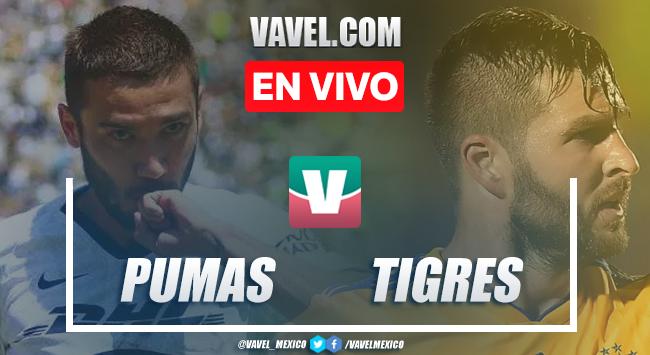Resumen y goles Pumas 0-1 Tigres en Apertura 2019 de la Liga MX