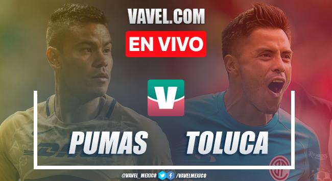 Resumen y video goles: Pumas 2- 1 Toluca en Apertura 2019