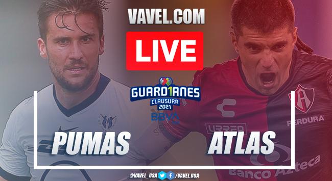 Highlights:Pumas 0-0 Atlas in Liga MX Guard1anes 2021