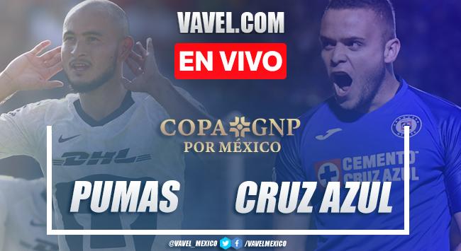 Resumen y goles: Pumas 1-4 Cruz Azul en Copa GNP 2020