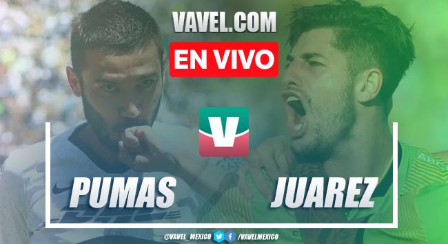 Resumen y video goles Pumas 1-1 FC Juárez en Apertura 2019