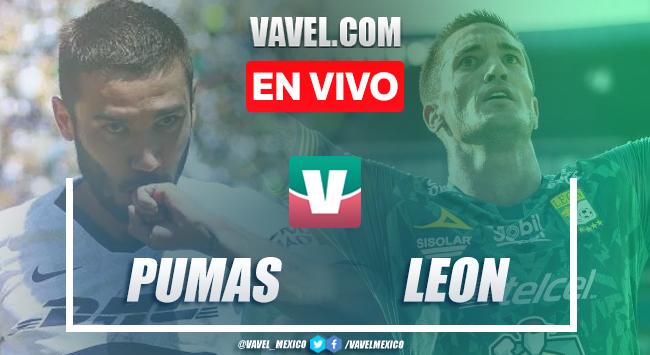Pumas vs León en vivo cómo ver transmisión TV online en Liga MX 2019 (0-0)