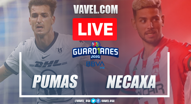 Pumas vs Necaxa: Live Stream Online TV Updates and How to Watch Guard1anes 2020 (0-0)