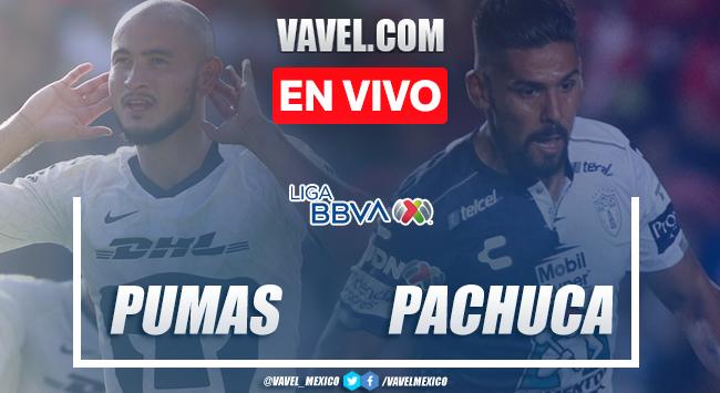 Resumen y goles Pumas 2-1 Pachuca en Clausura 2020 Liga MX
