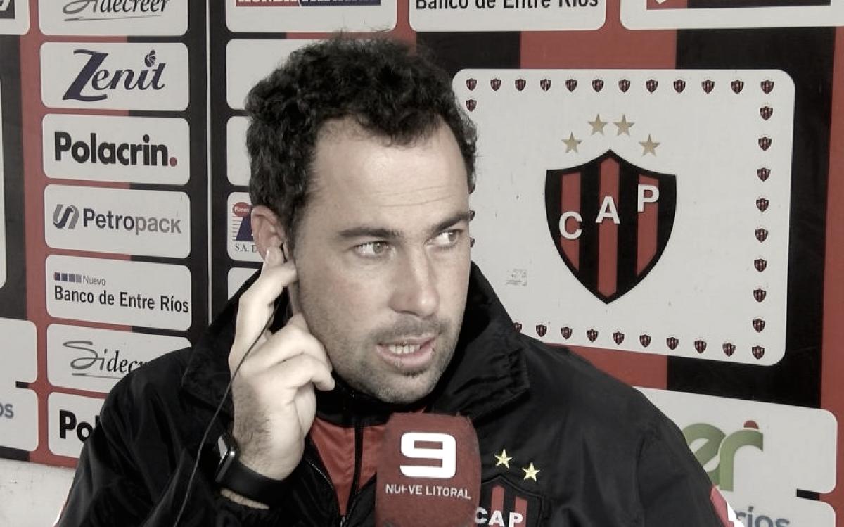 """Juan Pablo Pumpido: """"El rival está como nosotros"""""""