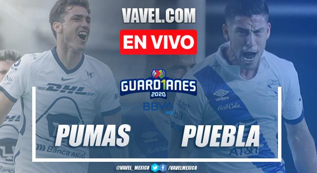 Goles y resumen: Pumas 4-1 Puebla en Liga MX Guard1anes 2020