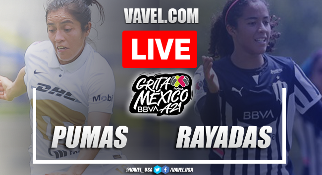 Goals and Highlights: Pumas 0-3 Rayadas Monterrey in Liga MX Femenil