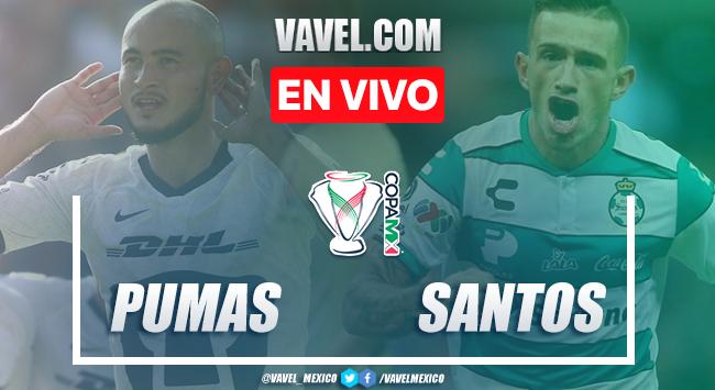 Goles y Resumen: Pumas 2-1 Santos Laguna en Copa MX 2020