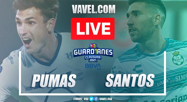 Goal and Highlights Pumas 1-0 Santos, Liga MX 2021