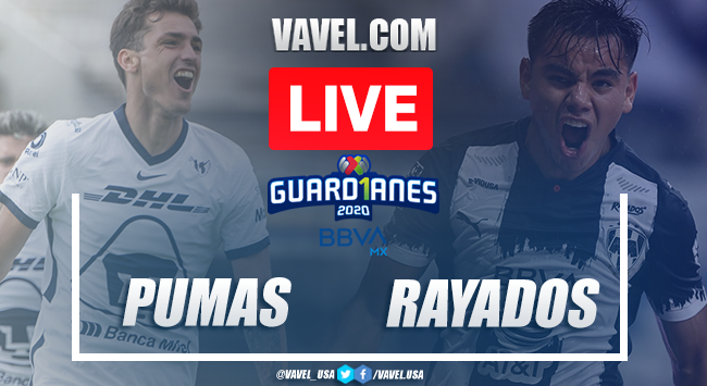 Goals and Highlights: Pumas 1-1 Rayados, 2020 Liga MX