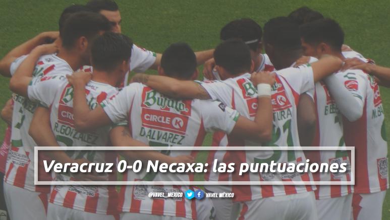 Veracruz 0-0 Necaxa: puntuaciones de Necaxa en la jornada 12 de la Liga MX Apertura 2018