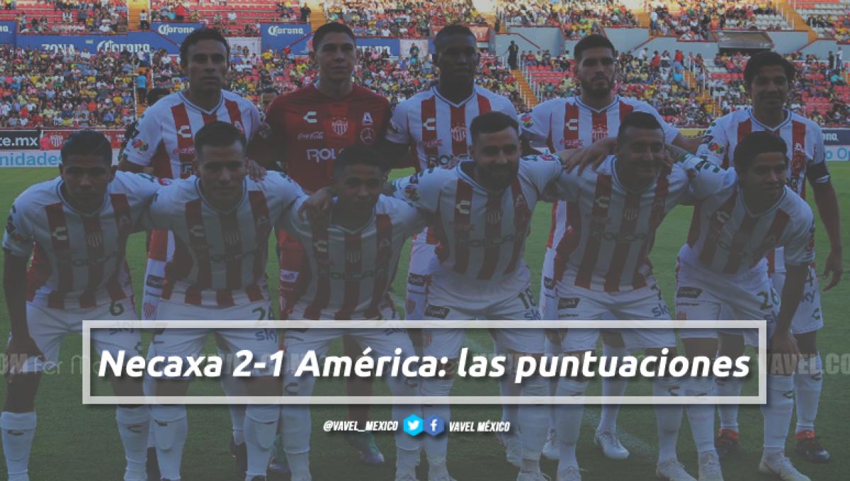 Necaxa 2-1 América: puntuaciones de Necaxa en la Jornada 1 de la Liga MX Apertura 2018
