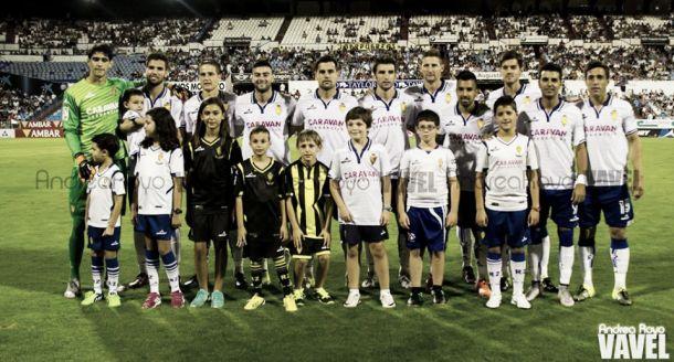Real Zaragoza - UD Almería: puntuaciones del R. Zaragoza, jornada 2