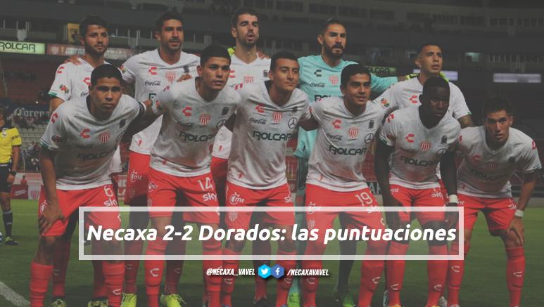 Puntuaciones de Necaxa en la jornada 3 de la Copa MX Apertura 2019