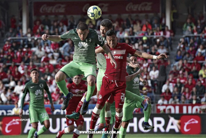 Toluca 2-1 América: Puntuaciones de América en Jornada 2 de la Liga MX Clausura 2017