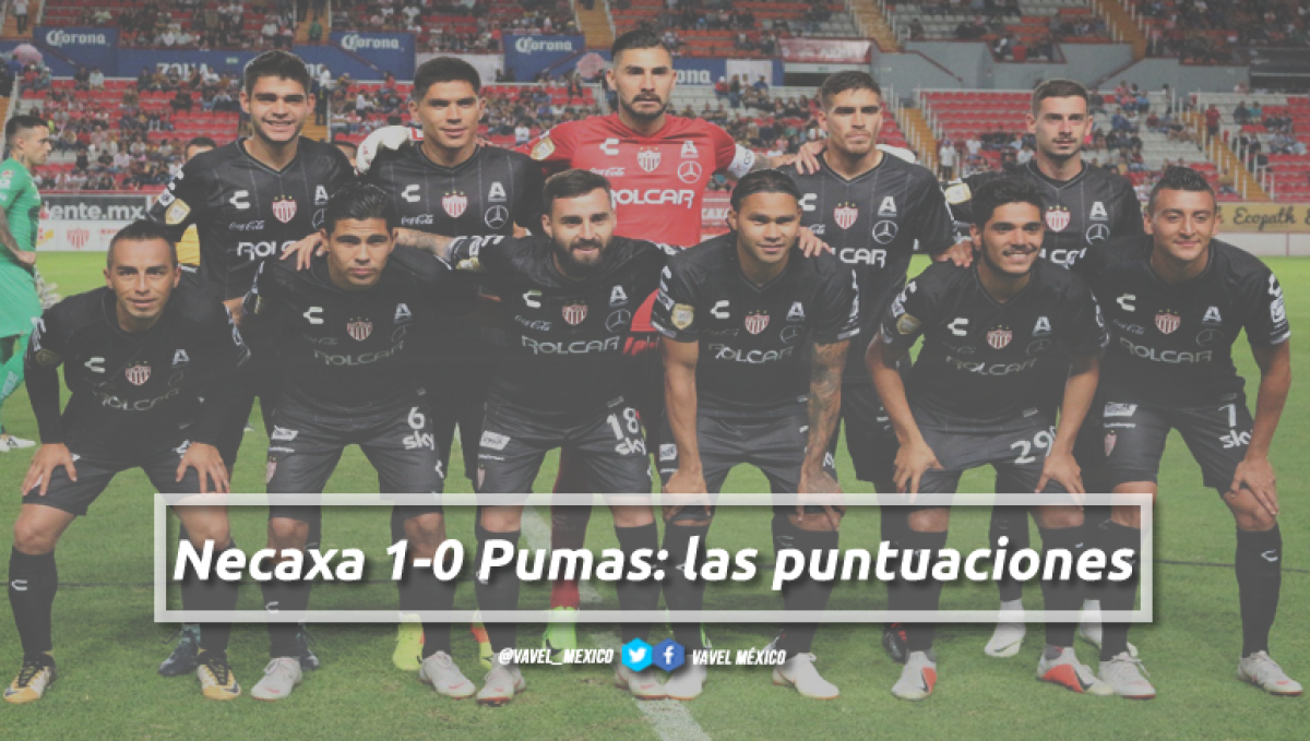 Necaxa 1-0 Pumas: puntuaciones de Necaxa en la jornada 5 de la Copa MX Apertura 2018