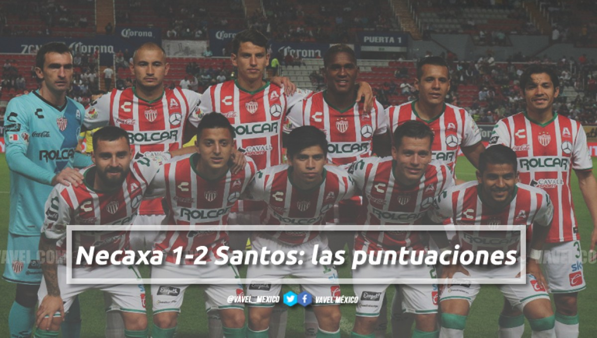 Necaxa 1-2 Santos: puntuaciones de Necaxa en la jornada 10 de la Liga MX Clausura 2018