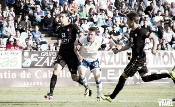 Real Zaragoza - Real Jaén: puntuaciones del Real Jaén, jornada 35