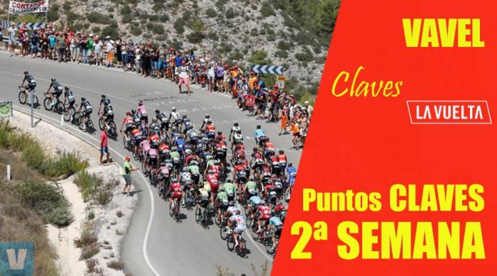 Puntos claves en la segunda semana en la Vuelta a España 2017