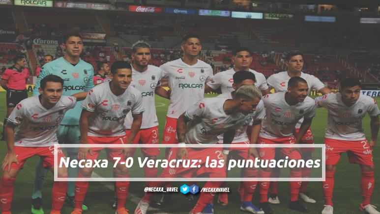 Puntuaciones de Necaxa en la jornada 3 de la Liga MX Apertura 2019