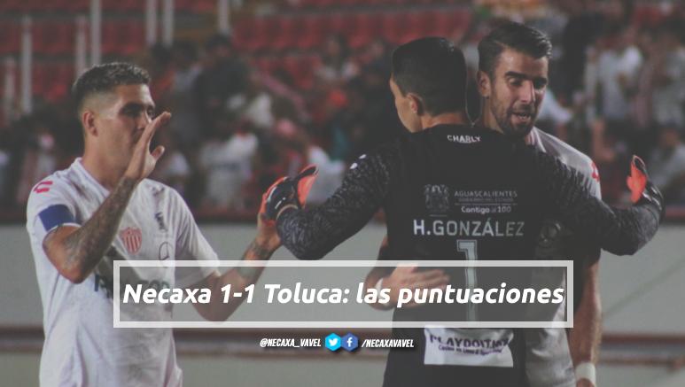 Puntuaciones de Necaxa en la jornada 7 de la Liga MX Apertura 2019