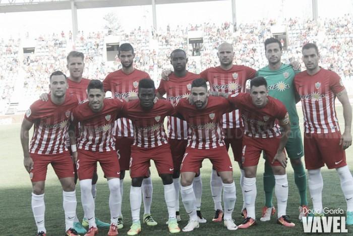 Almería - Lugo: puntuaciones Almería, jornada 7 de Segunda División