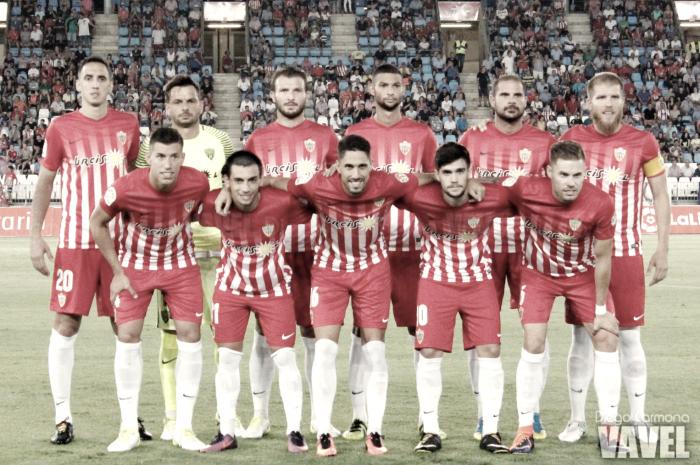 Almería - Real Oviedo: puntuaciones Almería, jornada 2 de Segunda División
