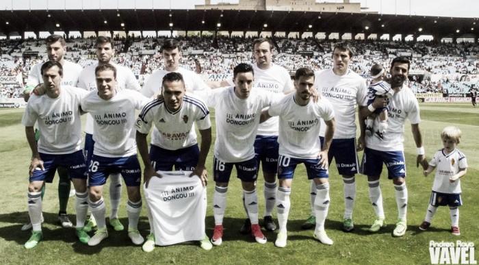 Real Zaragoza - Rayo Vallecano: puntuaciones del Real Zaragoza, jornada 40